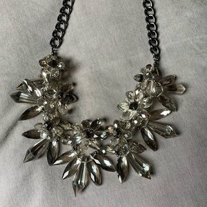 Chico's Gray Statement Necklace